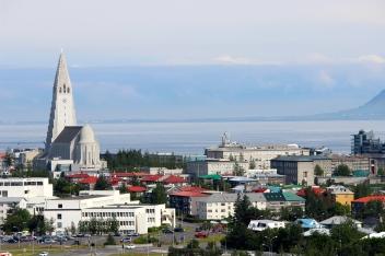 View of Hallsgrimkirkja