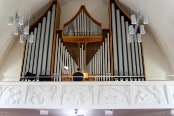 Akureyrarkirkja Church interior