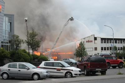 Industrial Fire.