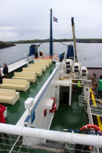 Baldur Ferry upper deck